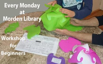 Free Weekly Workshop a Morden Library